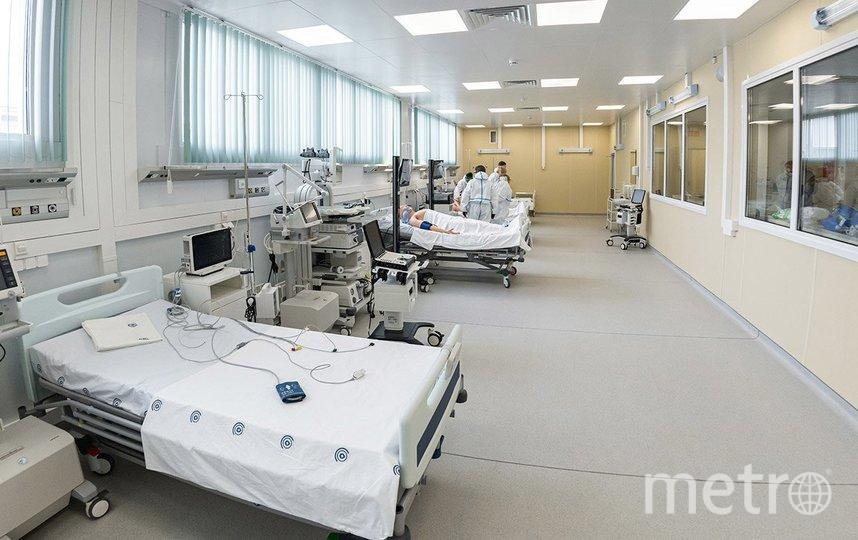 Так выглядит одно из помещений в больнице в Новой Москве. Фото пресс-служба мэра и правительства Москвы: Максим Мишин