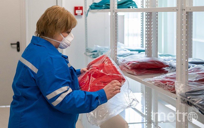 У персонала новой больницы есть вся необходимая экипировка. Фото пресс-служба мэра и правительства Москвы: Максим Мишин