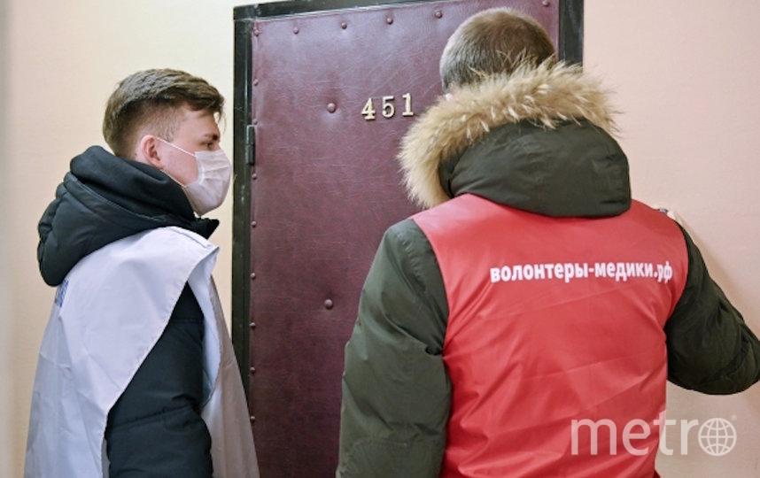 Волонтёры принесли продукты пенсионерам. Фото РИА Новости