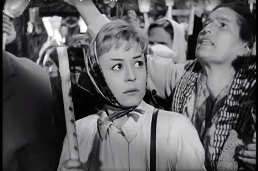 """Кадр из фильма """"Ночи Кабирии"""" с Джульеттой Мазиной. Фото скриншот картины, """"Metro"""""""