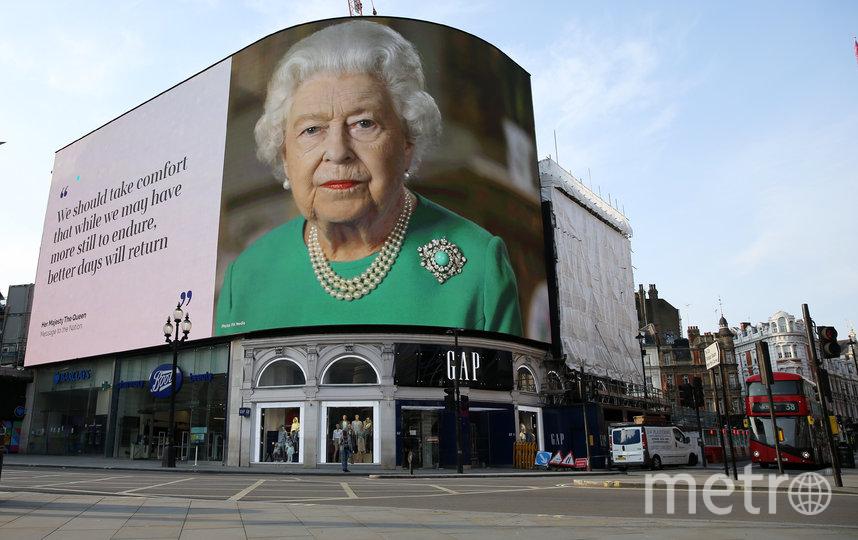 Ранее в апреле королева Великобритании Елизавета II обратилась к нации. Фото AFP