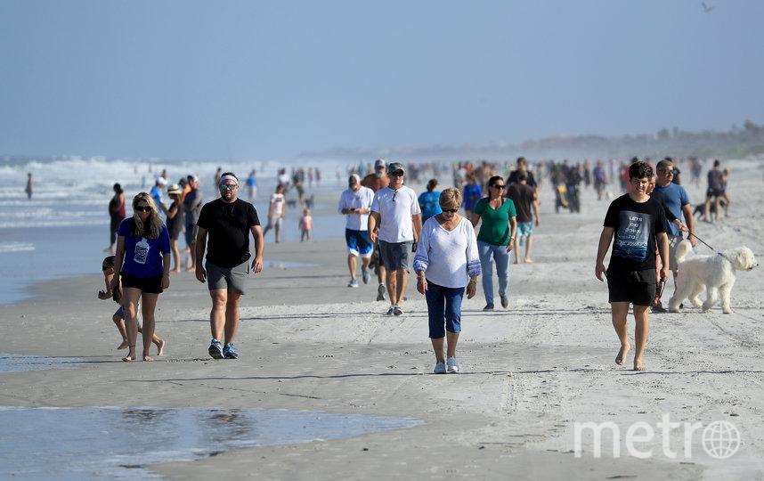 Флорида стала одним из первых штатов, которые приступили с смягчению карантинных мер после выступления Дональда Трампа. Фото AFP