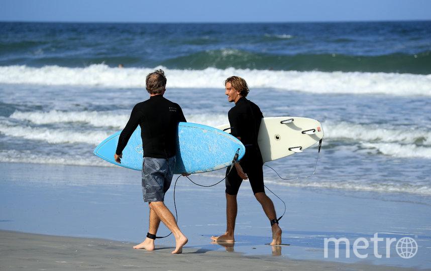 Во Флориде открылись парки и пляжи. Фото AFP