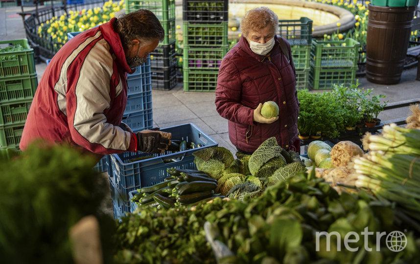 В Чехии возобновили свою деятельность некоторые рынки. Фото AFP