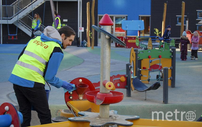 В Норвегии открылись детские сады и начальные школы. Фото AFP