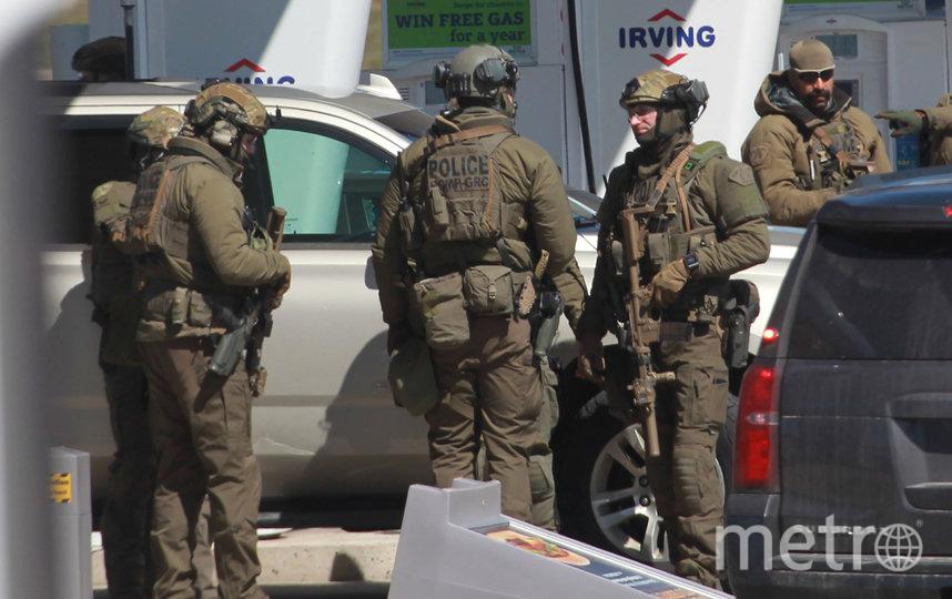 В канадском городе Портапик боевик-одиночка устроил смертоносную стрельбу, в результате которой погибли 16 человек. Фото AFP