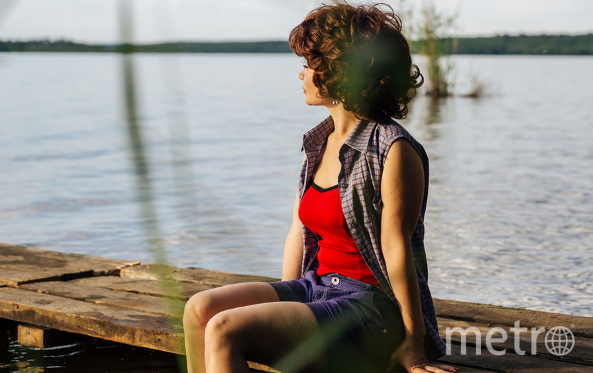 "Кадр из сериала ""Охота на певицу"". Фото НТВ"