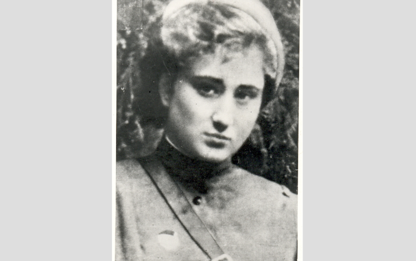 """Елена Ржевская в 1943 году. Фото Из личного архива Елены Ржевской, """"Metro"""""""