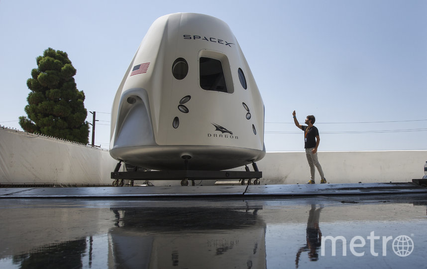 Spacex Crew Dragon. Фото Getty