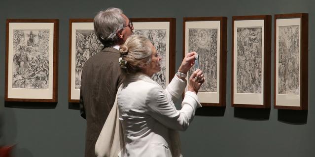 Выставка Дюрера в Майне (Германия).