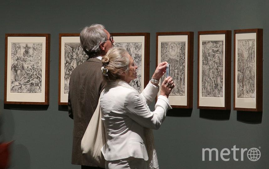 Выставка Дюрера в Майне (Германия). Фото Getty