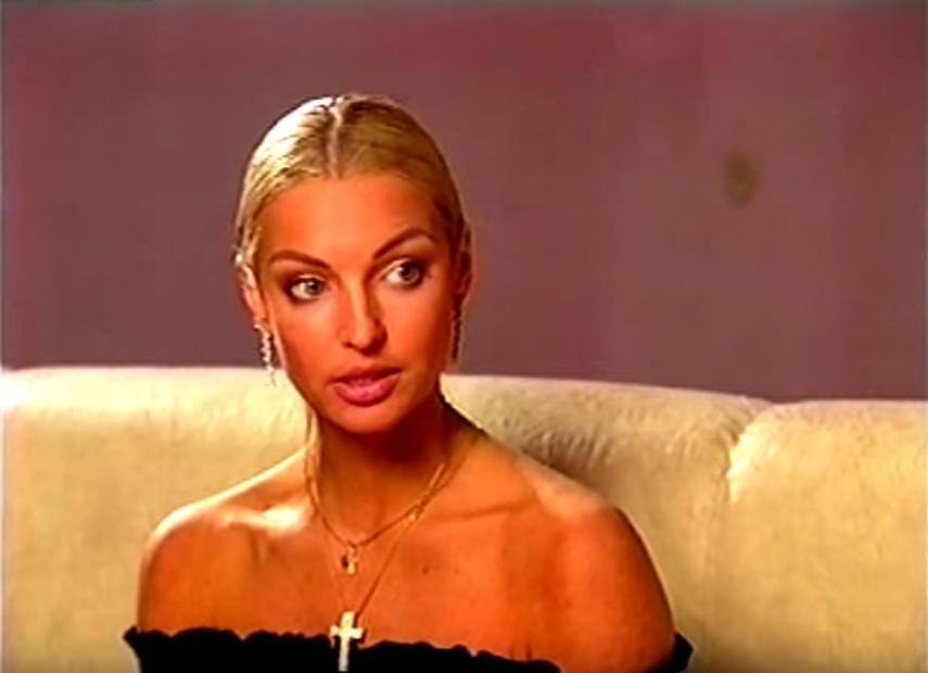 Анастасия Волочкова в молодости. Фото Скриншот Youtube