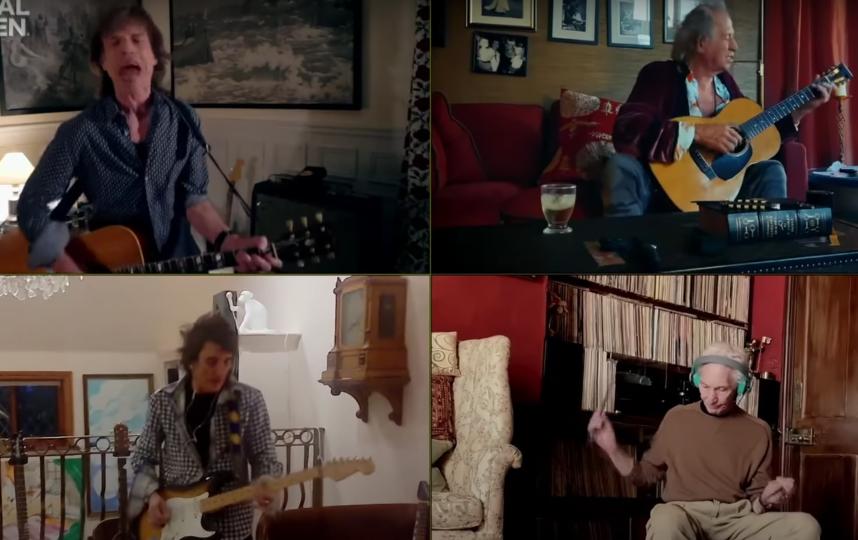 Группа Rolling Stones. Фото Скриншот Youtube