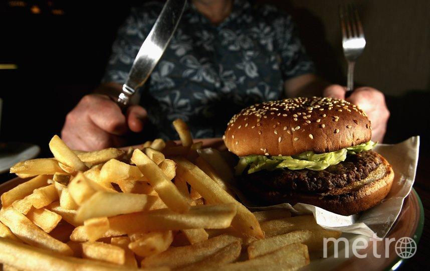 """Вредная еда приведёт к депрессии. Фото getty, """"Metro"""""""