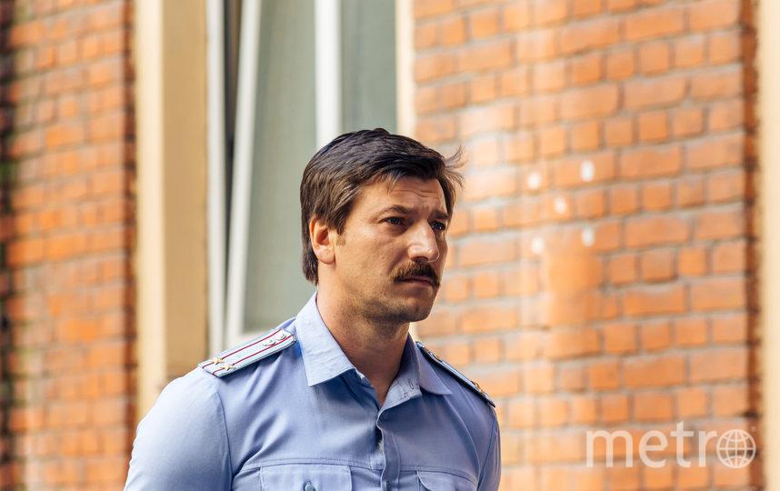 Александр Устюгов в роли подполковника милиции Гордина. Фото Предоставлено НТВ.