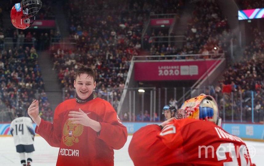 Кирилл Долженков. Фото предоставлено Федерацией хоккея России