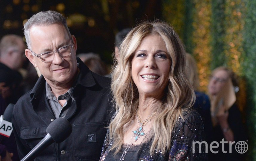 Том Хэнкс с супругой Ритой в 2019-м году. Фото Getty