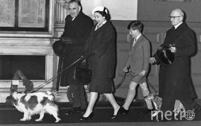 Королева Елизавета II с сыном Чарльзом. 1960 год. Фото Getty