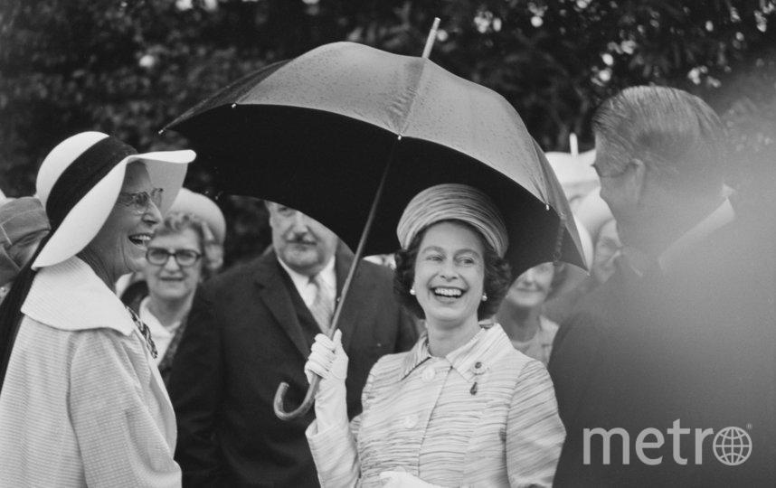 Елизавета II во время визита в Австралию в 1970 году. Фото Getty