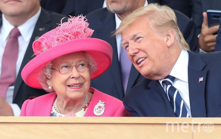 Президент США Дональд Трамп и королева Великобритании Елизавета II. 2019 год. Фото Getty