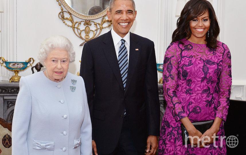 Президент США Барак Обама и королева Великобритании Елизавета II. 2016 год. Фото Getty