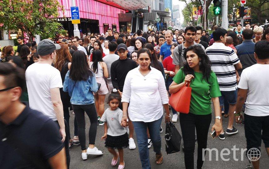 """Обычный день в Сингапуре до объявления Карантина. Фото предоставлено героями материала , """"Metro"""""""