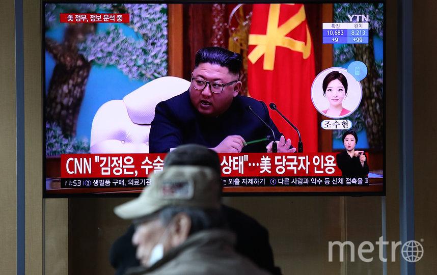 Разведка США получила сведения о том, что лидер Северной Кореи, якобы, находится при смерти. Фото Getty