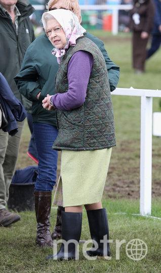 А на этом фото королеву Елизавету II можно было бы принять за обычную бабушку. Фото Getty