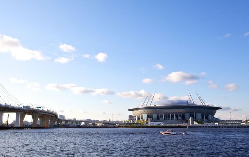 """Стадион """"Газпром-Арена"""" в Петербурге. Фото pixabay.com"""