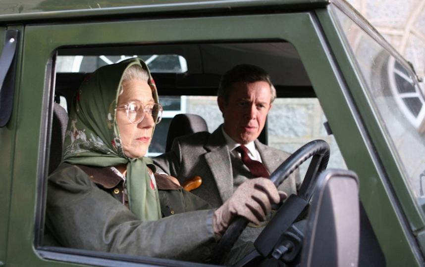 "Хелен Миррен в роли Елизаветы II в ""Королеве"". Фото кадр из фильма"