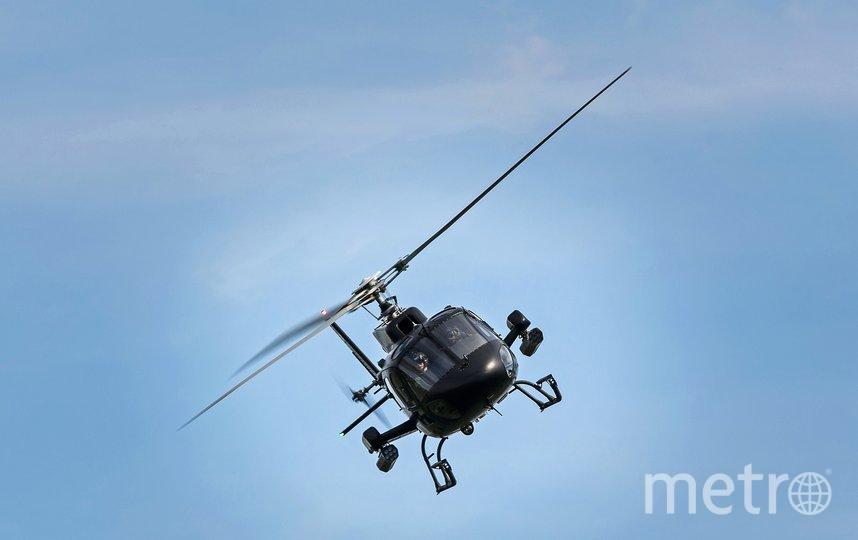 Вертолеты предупреждают петербуржцев о пандемии. Фото pixabay.com