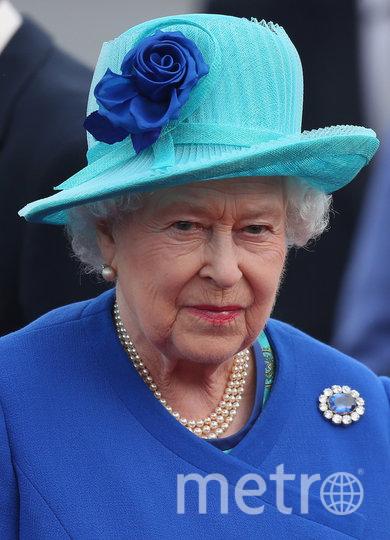 Сапфировая брошь принца Альберта. Фото Getty