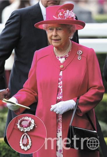 Рубиновая брошь королевы Виктории. Фото Getty