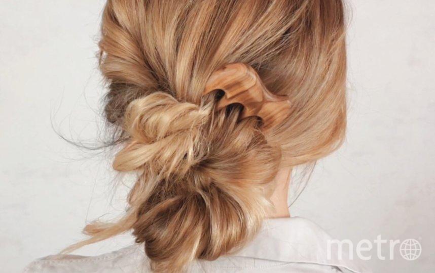 Секрет причёски из жгутиков в том, что пряди нужно закручивать в одну сторону, а переплетать между собой – в обратном направлении. Фото предоставлено Юлией Матвеевой