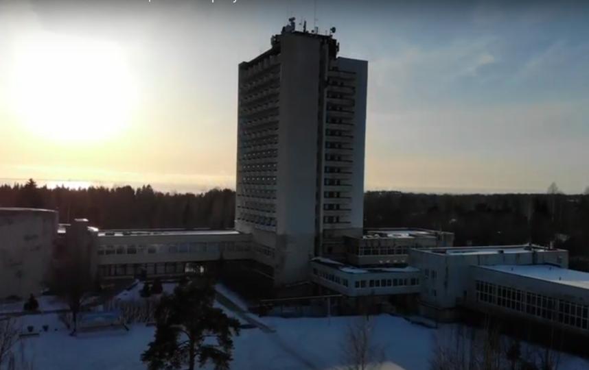 """Пансионат """"Балтиец"""" в Репино станет обсерватором. Фото Скриншот Youtube"""