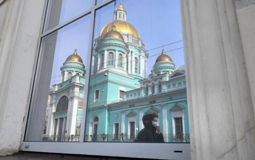 Елоховский кафедральный собор в Москве. Фото РИА Новости