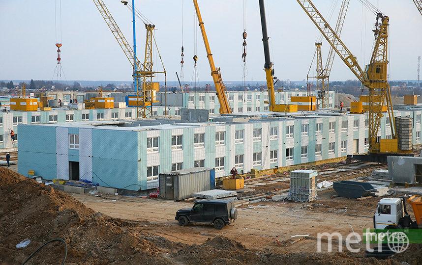 Инфекционная больница в Новой Москве построена с нуля всего за месяц. Фото Василий Кузьмичёнок