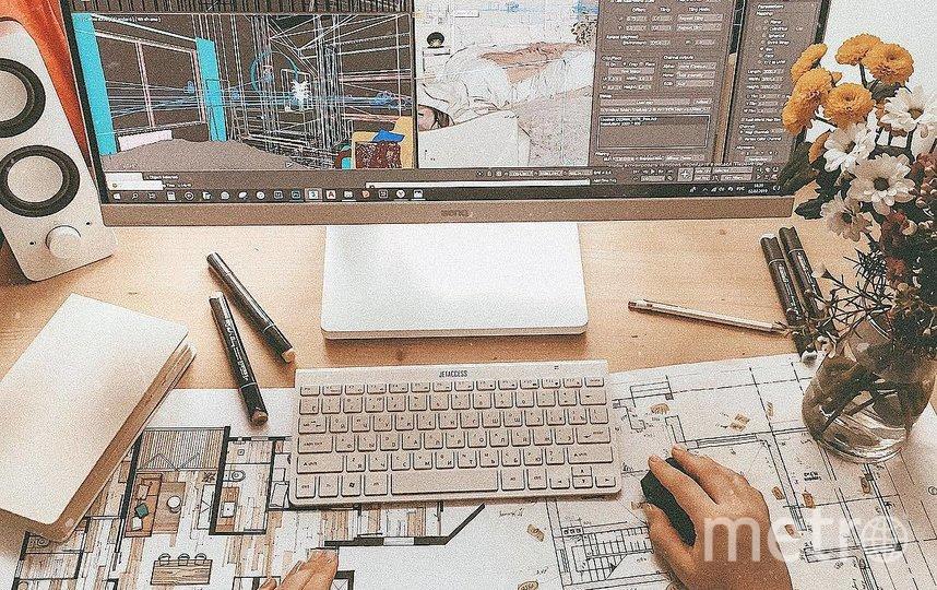 """Организовать офис в квартире – вполне выполнимая задача. Фото  instagram.com/menitskaya.design, """"Metro"""""""