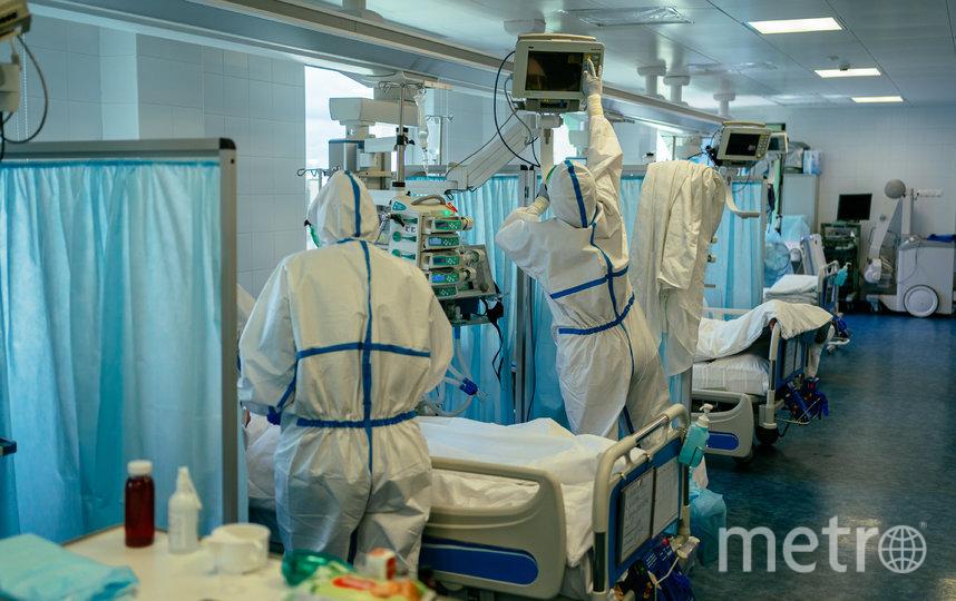 Медицинским работникам коронавирусных стационаров в Москве предоставляется возможность бесплатного проживания в столичных гостиницах и проезда на такси до места работы и обратно. Фото AFP