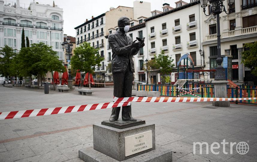 Памятник поэту Федерико Гарсиа Лорка. Мадрид, Испания. Фото Getty