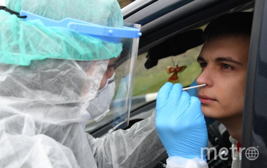 """Необходимость тестирования зависит от """"эпидемиологического анамнеза"""". Фото РИА Новости"""