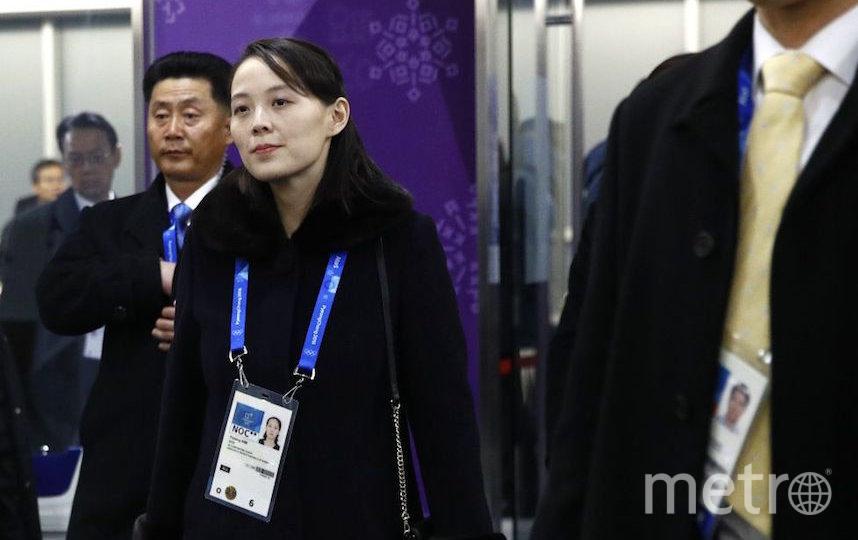 Ким Е Чжон в составе делегации Северной Кореи на Олимпийских играх 2018 года в южнокорейском Пхенчхане. Фото Getty
