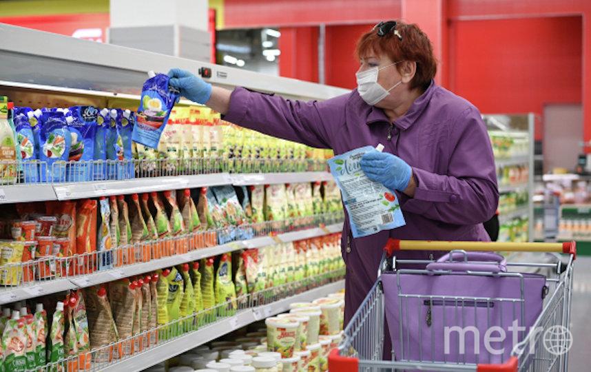 Нет значительного риска заражения этой болезнью, когда вы ходите по магазинам. Фото РИА Новости