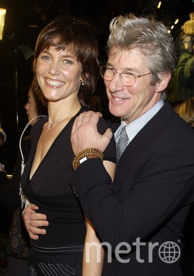 Ричард Гир и вторая жена, актриса Кэри Лоуэлл. Фото Getty