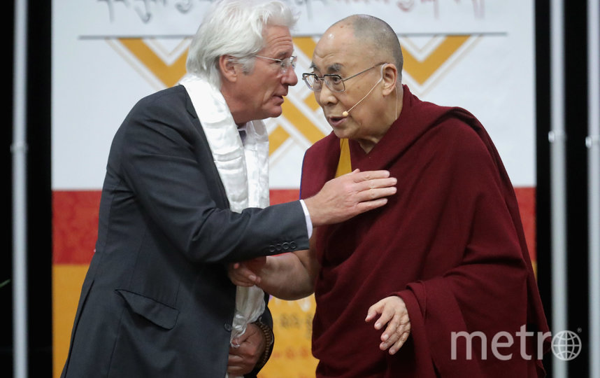 Ричард Гир и Далай Лама. Фото Getty