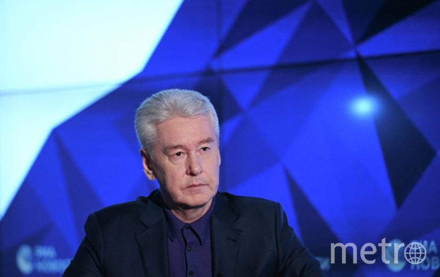 Сергей Собянин. Фото РИА Новости
