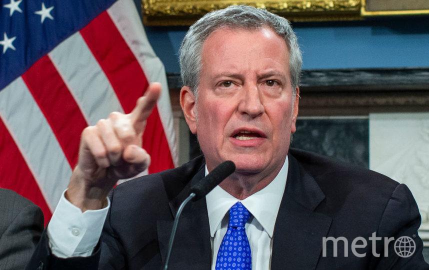 Мэр Нью-Йорка Билл де Блазио. Фото Getty