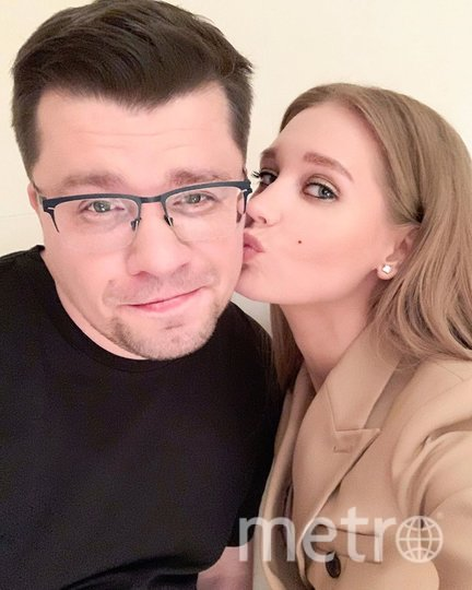 Кристина Асмус и Гарик Харламов. Фото Скриншот Instagram/asmuskristina