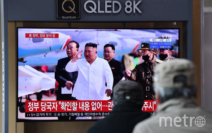 За новостями о состоянии здоровья Ким Чен Ына пристально следит весь мир. Фото AFP