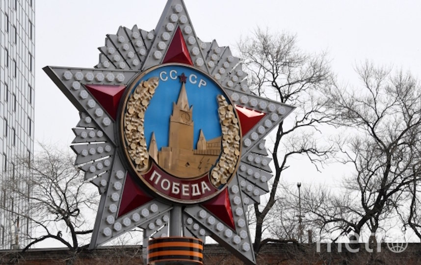 В Москве ко Дню Победы на указателях появятся тематические QR-коды. Фото РИА Новости